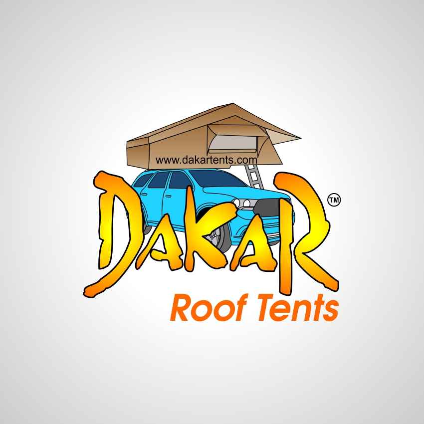 Logo Design by martinz - Entry No. 17 in the Logo Design Contest Dakar Roof Tents.