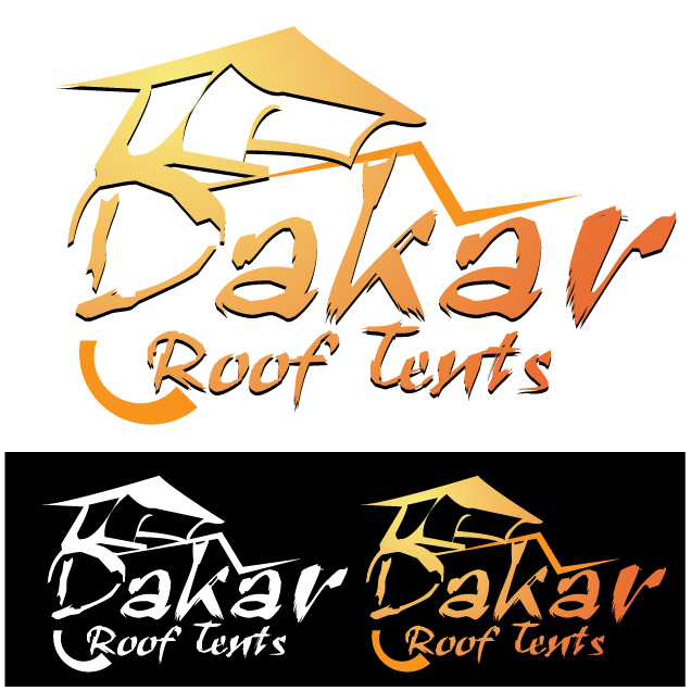 Logo Design by stormbighit - Entry No. 20 in the Logo Design Contest Dakar Roof Tents.
