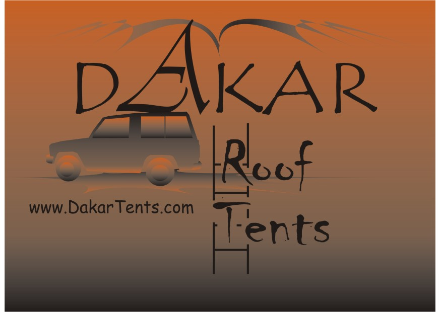 Logo Design by Mara-Patri - Entry No. 27 in the Logo Design Contest Dakar Roof Tents.