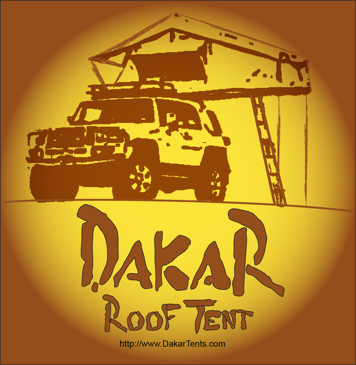 Logo Design by LLP7 - Entry No. 28 in the Logo Design Contest Dakar Roof Tents.