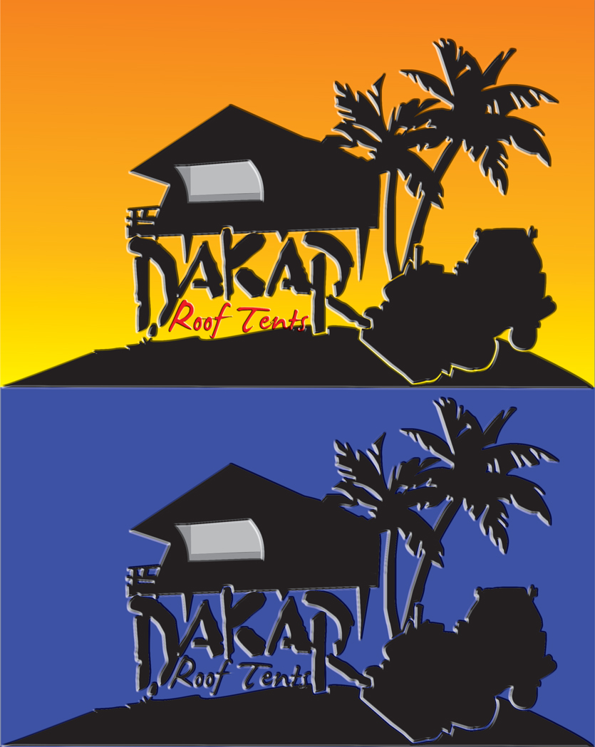 Logo Design by jais - Entry No. 29 in the Logo Design Contest Dakar Roof Tents.