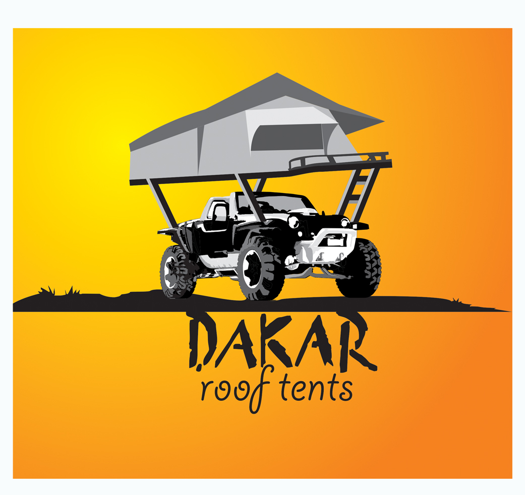 Logo Design by jais - Entry No. 31 in the Logo Design Contest Dakar Roof Tents.
