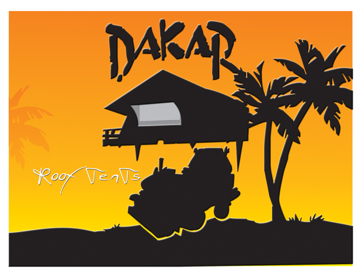 Logo Design by jais - Entry No. 32 in the Logo Design Contest Dakar Roof Tents.