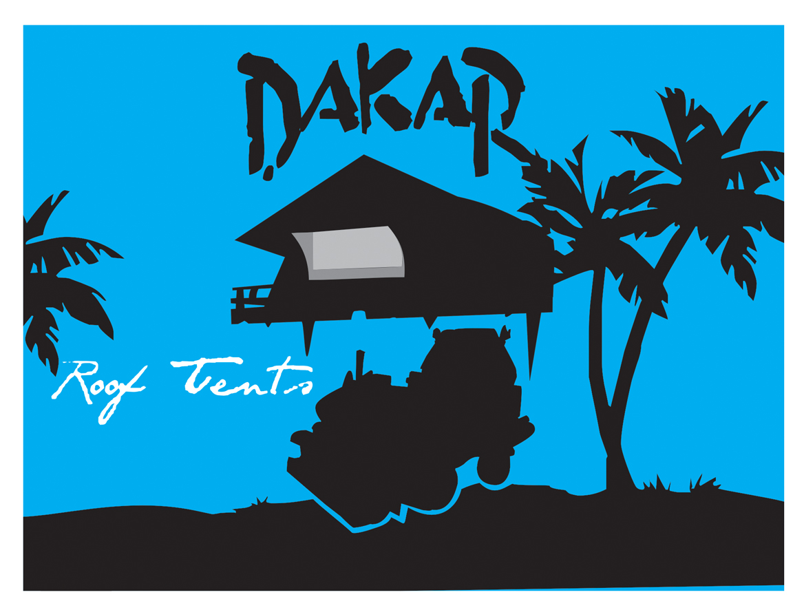 Logo Design by jais - Entry No. 33 in the Logo Design Contest Dakar Roof Tents.
