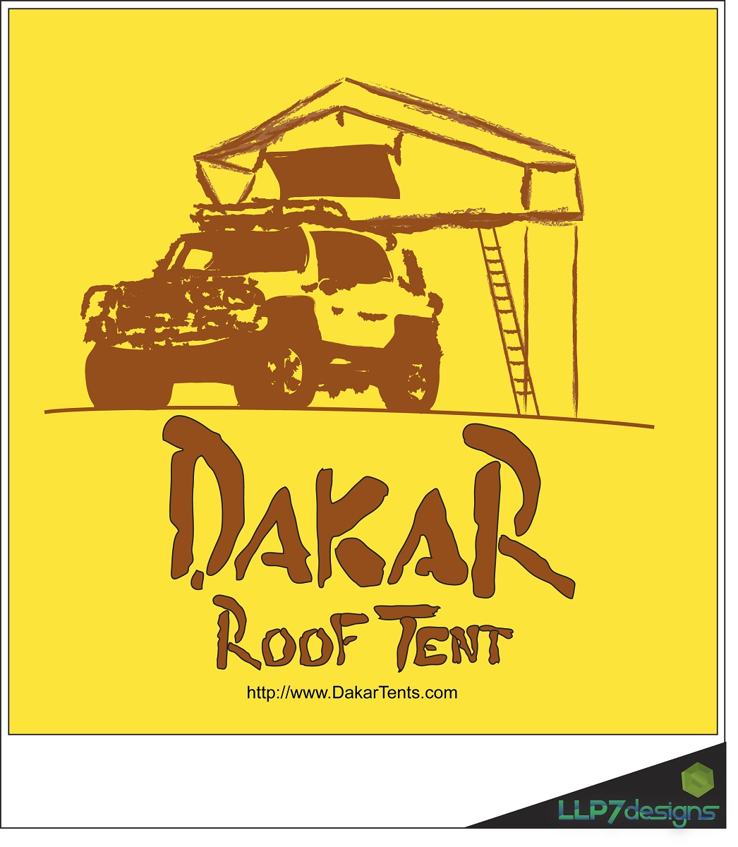 Logo Design by LLP7 - Entry No. 34 in the Logo Design Contest Dakar Roof Tents.