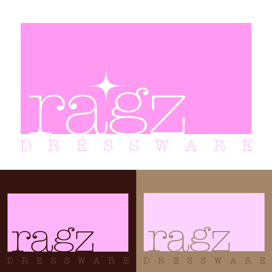 Logo Design by trav - Entry No. 191 in the Logo Design Contest Ragz Dressware.
