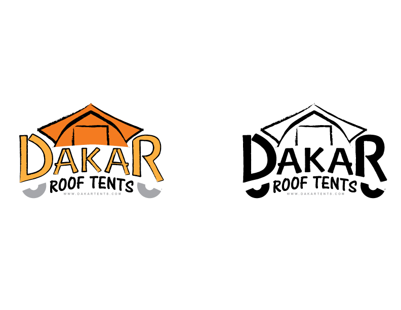 Logo Design by IconicDesign - Entry No. 38 in the Logo Design Contest Dakar Roof Tents.