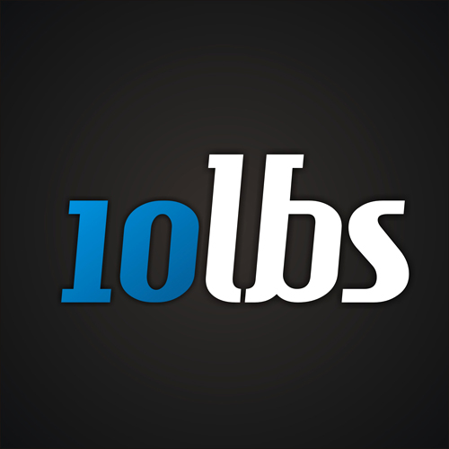 Logo Design by lestari17 - Entry No. 31 in the Logo Design Contest 10 lbs.