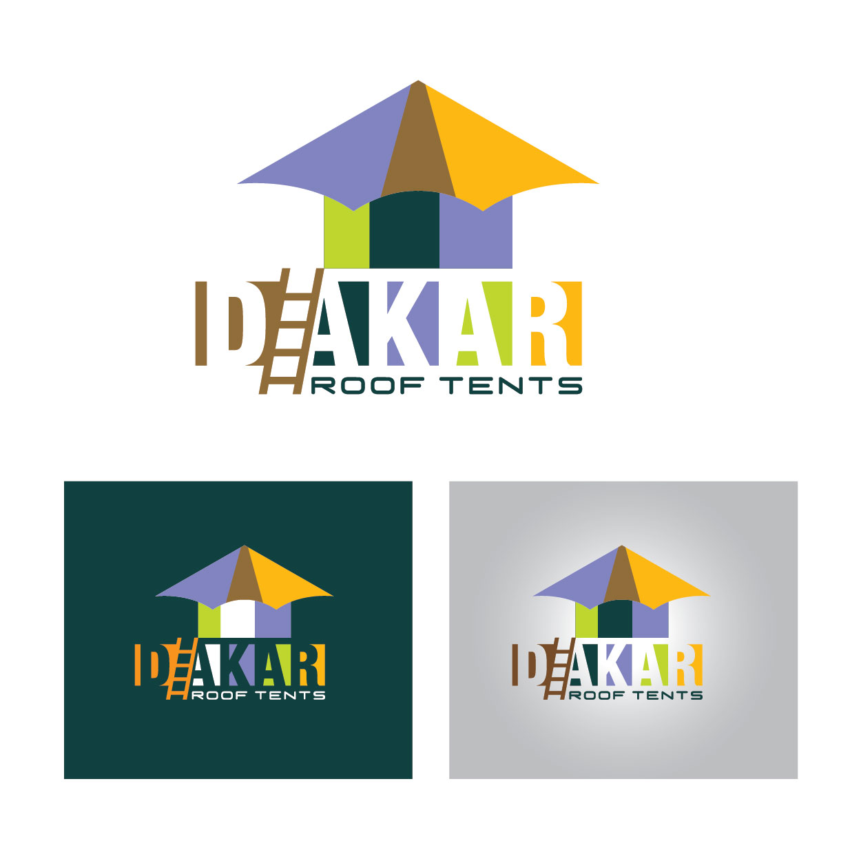 Logo Design by josephope - Entry No. 47 in the Logo Design Contest Dakar Roof Tents.