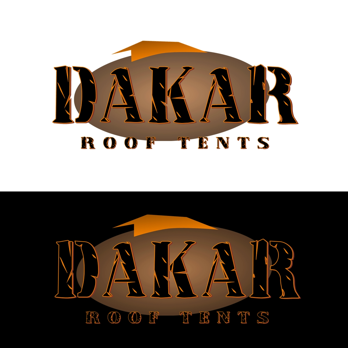 Logo Design by Joseph calunsag Cagaanan - Entry No. 48 in the Logo Design Contest Dakar Roof Tents.