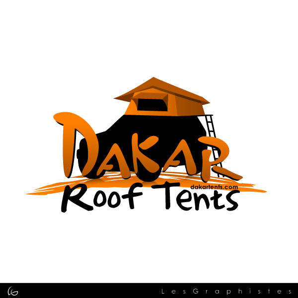 Logo Design by Les-Graphistes - Entry No. 50 in the Logo Design Contest Dakar Roof Tents.
