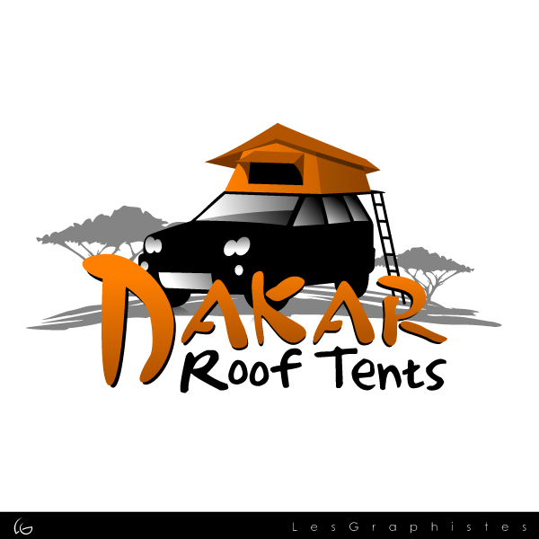 Logo Design by Les-Graphistes - Entry No. 53 in the Logo Design Contest Dakar Roof Tents.