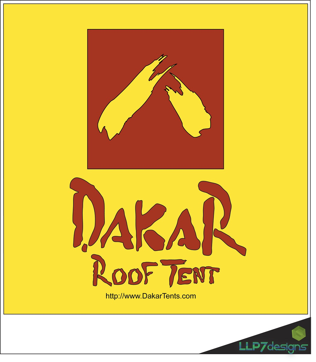 Logo Design by LLP7 - Entry No. 54 in the Logo Design Contest Dakar Roof Tents.