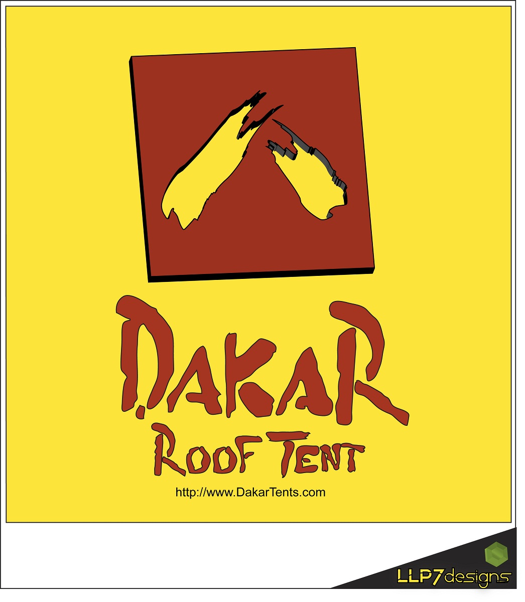 Logo Design by LLP7 - Entry No. 55 in the Logo Design Contest Dakar Roof Tents.