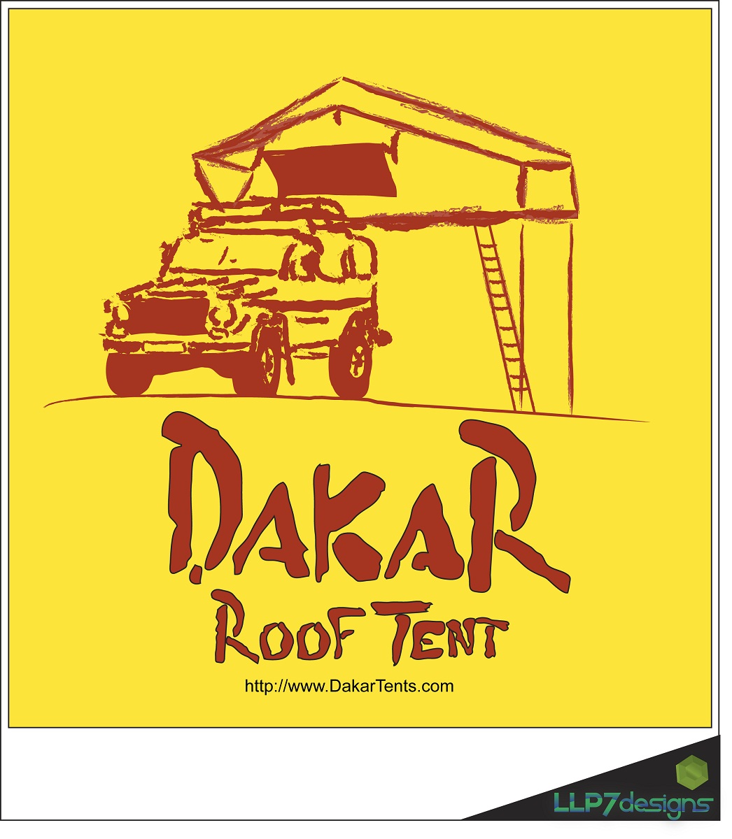 Logo Design by LLP7 - Entry No. 56 in the Logo Design Contest Dakar Roof Tents.