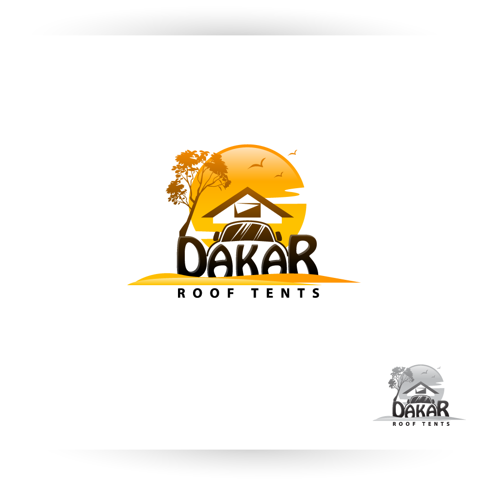 Logo Design by zesthar - Entry No. 59 in the Logo Design Contest Dakar Roof Tents.