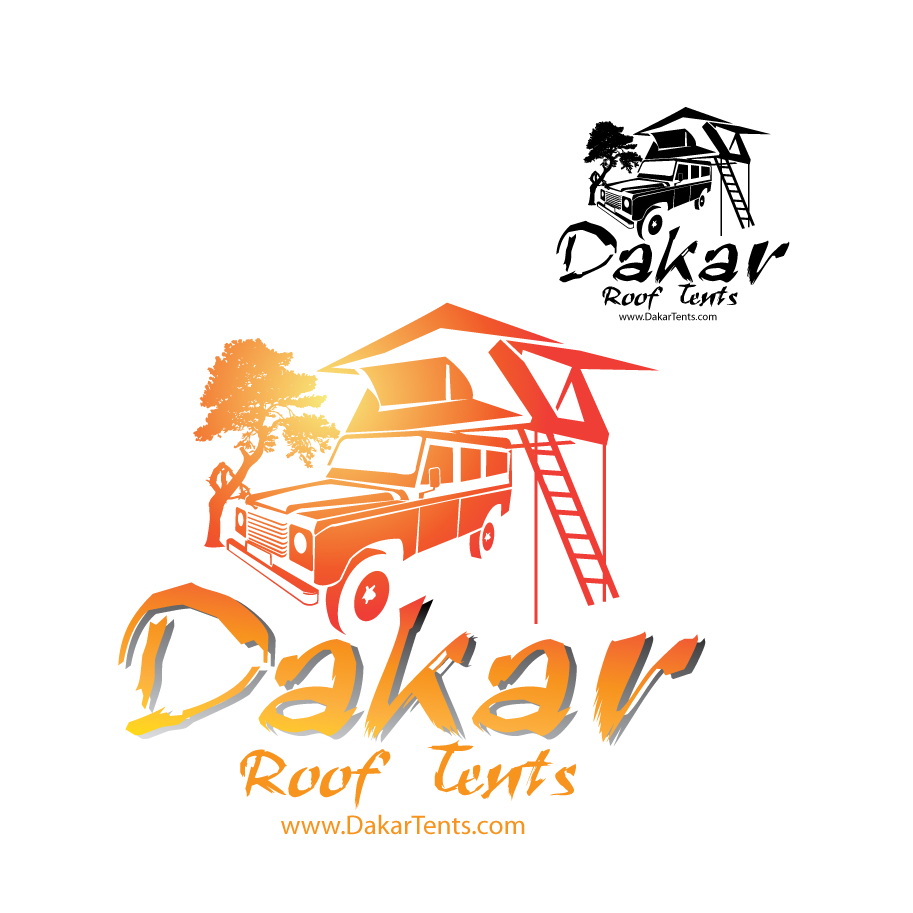 Logo Design by stormbighit - Entry No. 60 in the Logo Design Contest Dakar Roof Tents.