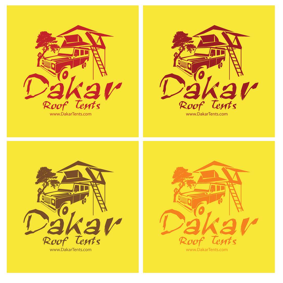 Logo Design by stormbighit - Entry No. 61 in the Logo Design Contest Dakar Roof Tents.