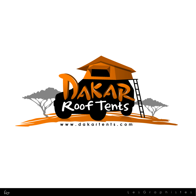 Logo Design by Les-Graphistes - Entry No. 62 in the Logo Design Contest Dakar Roof Tents.