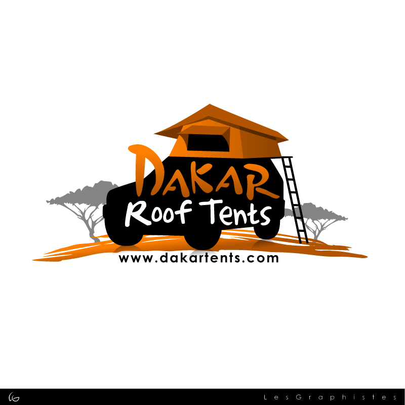 Logo Design by Les-Graphistes - Entry No. 63 in the Logo Design Contest Dakar Roof Tents.