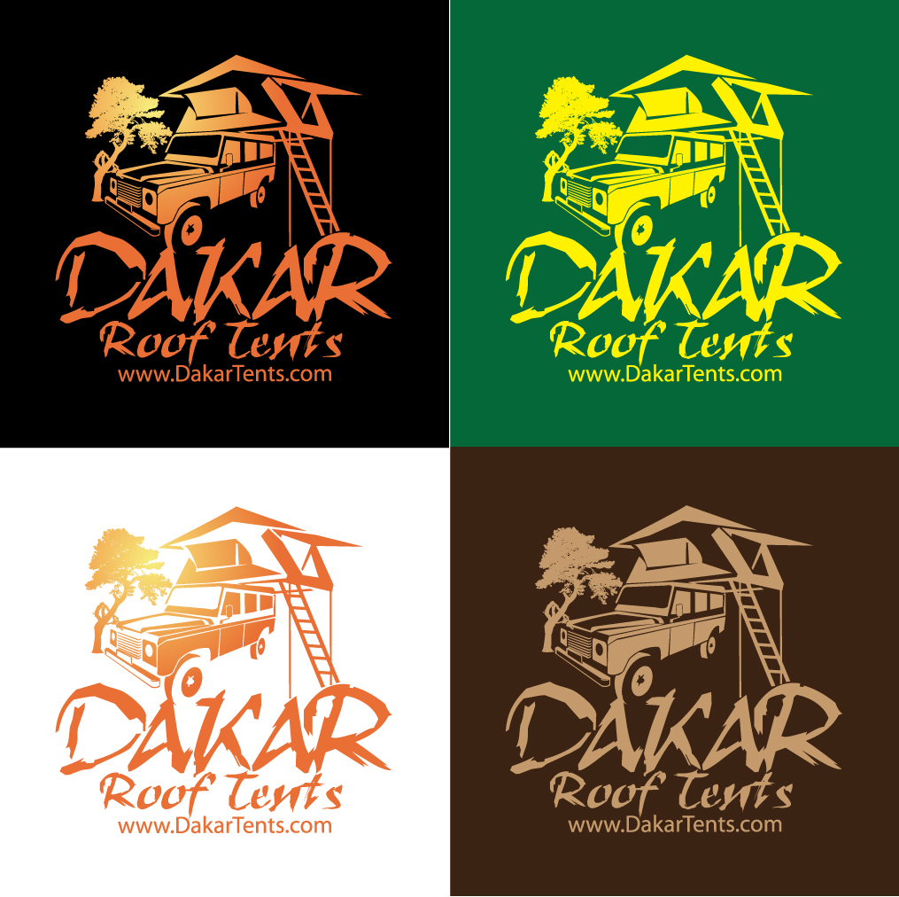 Logo Design by stormbighit - Entry No. 64 in the Logo Design Contest Dakar Roof Tents.