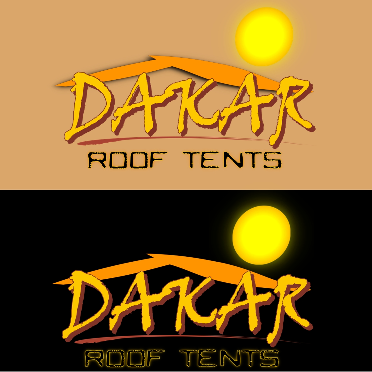 Logo Design by Joseph calunsag Cagaanan - Entry No. 65 in the Logo Design Contest Dakar Roof Tents.