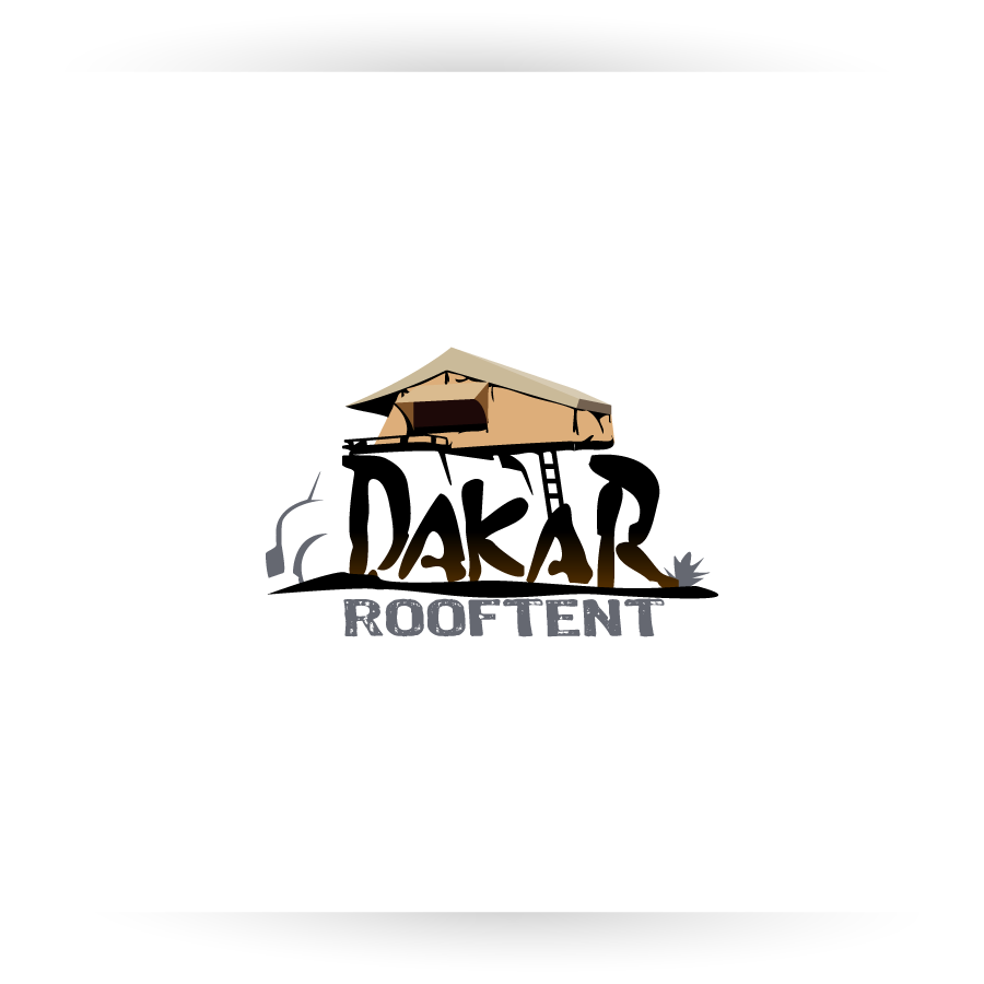 Logo Design by zesthar - Entry No. 74 in the Logo Design Contest Dakar Roof Tents.