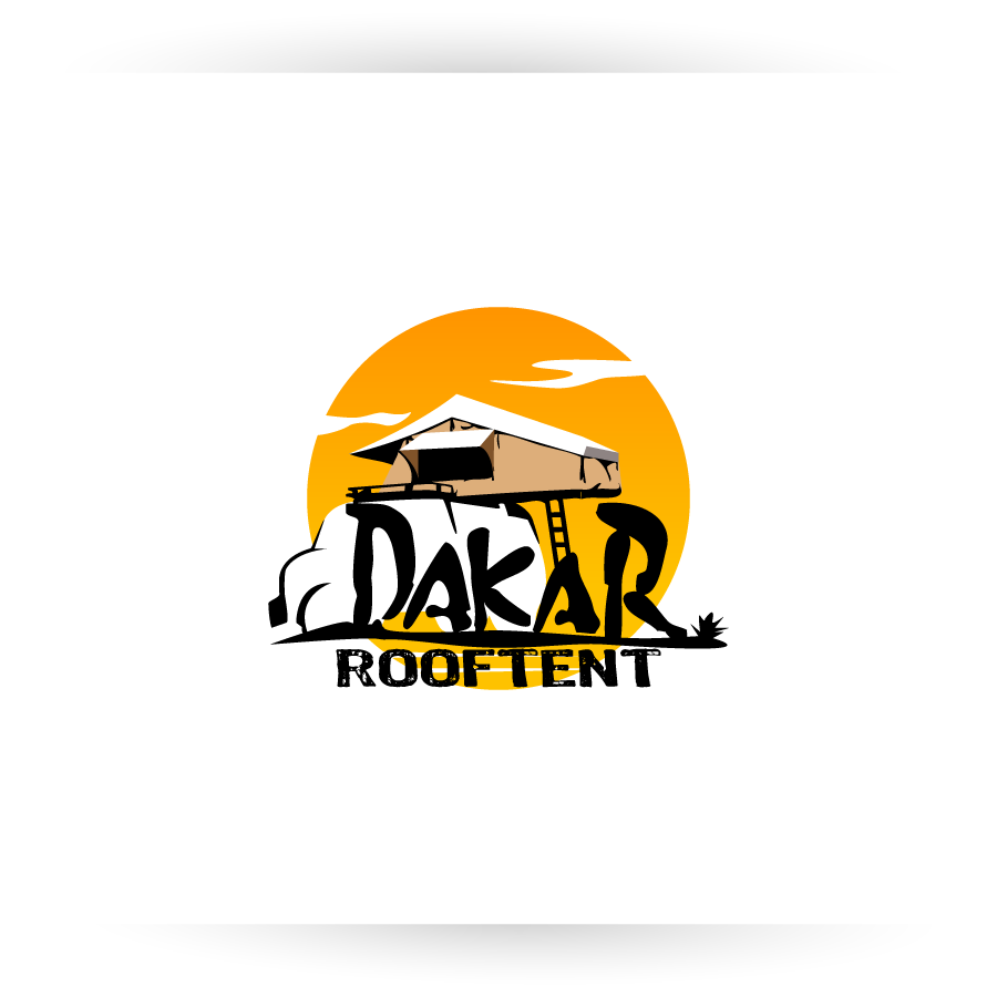 Logo Design by zesthar - Entry No. 75 in the Logo Design Contest Dakar Roof Tents.