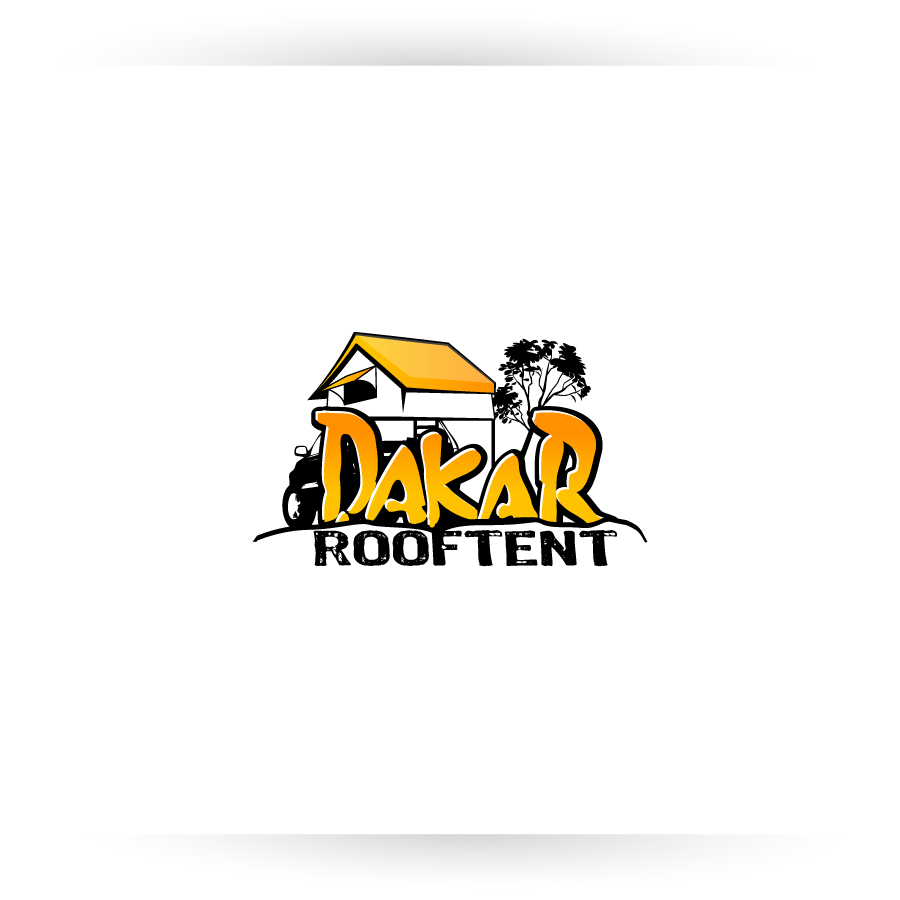 Logo Design by zesthar - Entry No. 77 in the Logo Design Contest Dakar Roof Tents.