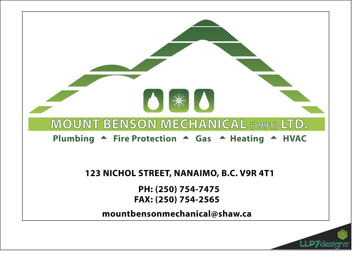 Logo Design by LLP7 - Entry No. 2 in the Logo Design Contest Mount Benson Mechanical.