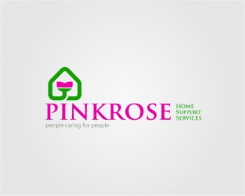 Logo Design by hendraku - Entry No. 35 in the Logo Design Contest Pink Rose Home Support Services.
