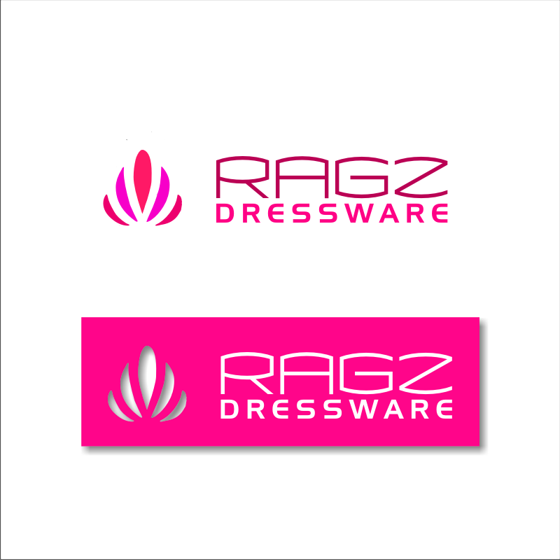 Logo Design by SquaredDesign - Entry No. 199 in the Logo Design Contest Ragz Dressware.