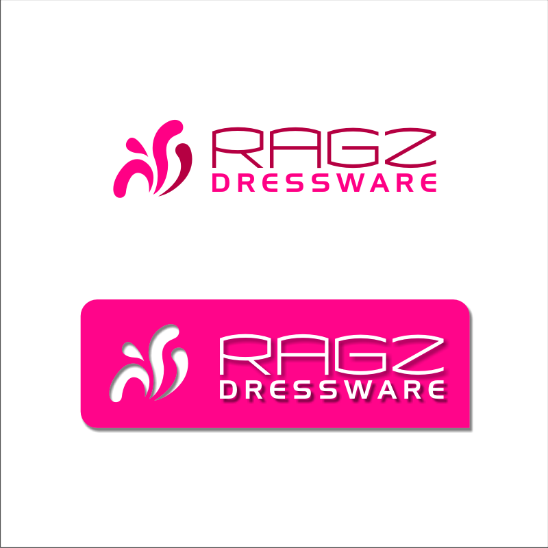 Logo Design by SquaredDesign - Entry No. 200 in the Logo Design Contest Ragz Dressware.