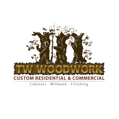 Logo Design by bcendet - Entry No. 8 in the Logo Design Contest True West Woodwork.