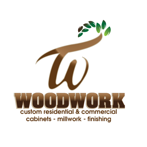 Logo Design by stormbighit - Entry No. 11 in the Logo Design Contest True West Woodwork.