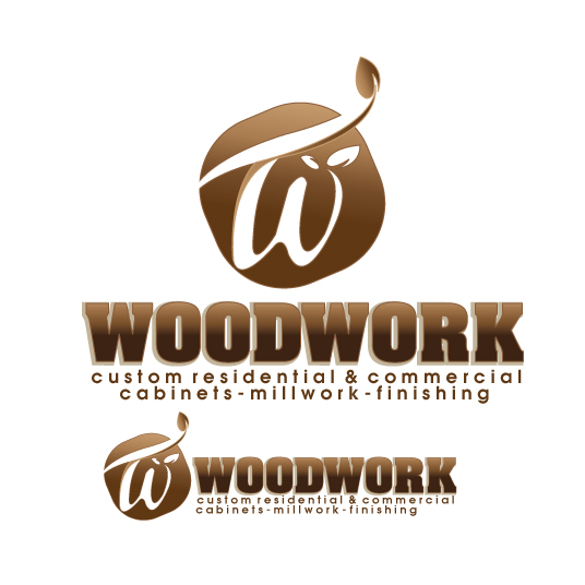 Logo Design by stormbighit - Entry No. 12 in the Logo Design Contest True West Woodwork.
