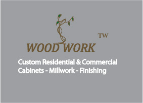 Logo Design by shafy - Entry No. 13 in the Logo Design Contest True West Woodwork.