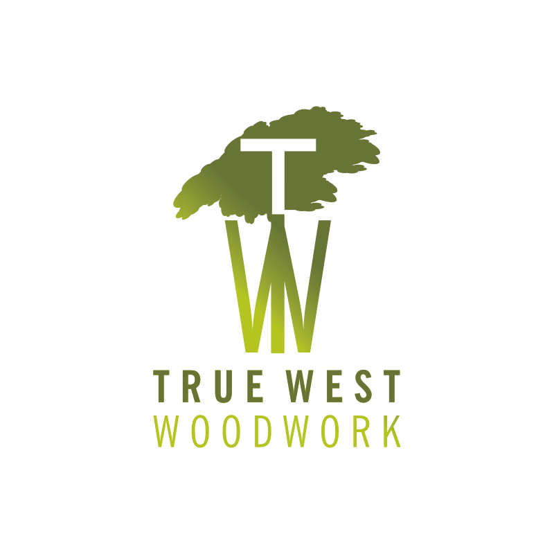 Logo Design by montoshlall - Entry No. 20 in the Logo Design Contest True West Woodwork.