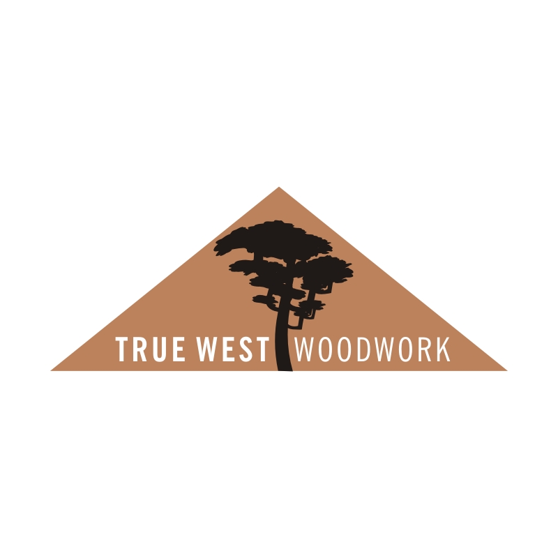 Logo Design by montoshlall - Entry No. 21 in the Logo Design Contest True West Woodwork.