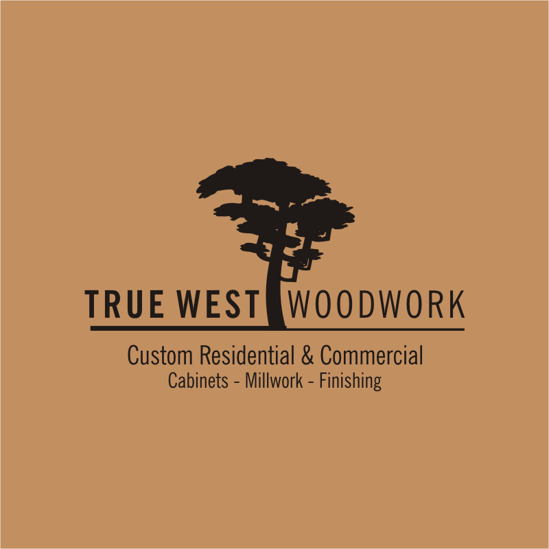 Logo Design by montoshlall - Entry No. 22 in the Logo Design Contest True West Woodwork.