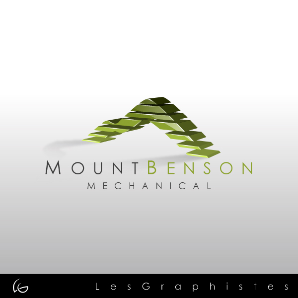 Logo Design by Les-Graphistes - Entry No. 15 in the Logo Design Contest Mount Benson Mechanical.