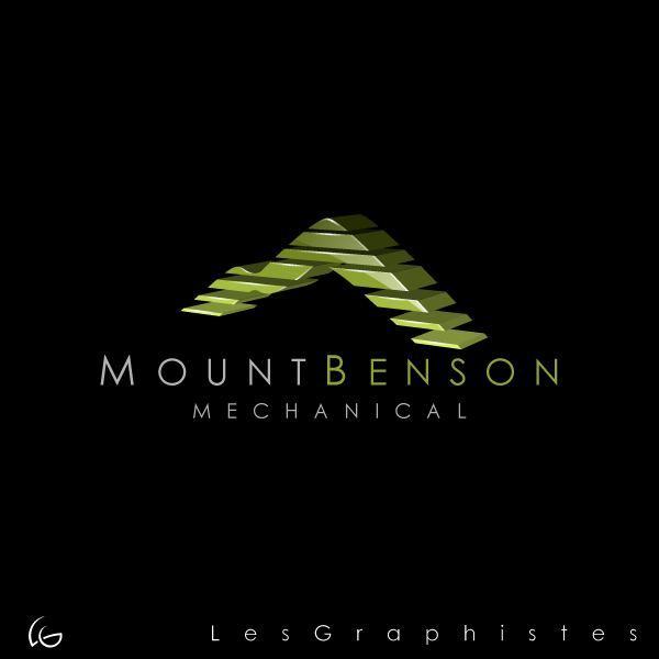 Logo Design by Les-Graphistes - Entry No. 16 in the Logo Design Contest Mount Benson Mechanical.