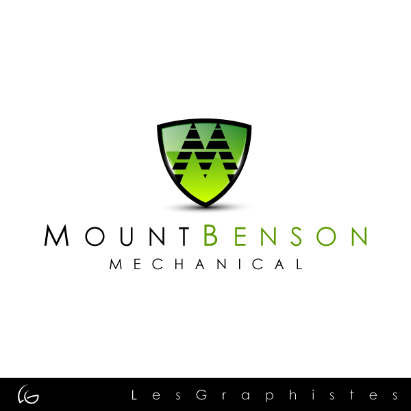 Logo Design by Les-Graphistes - Entry No. 17 in the Logo Design Contest Mount Benson Mechanical.