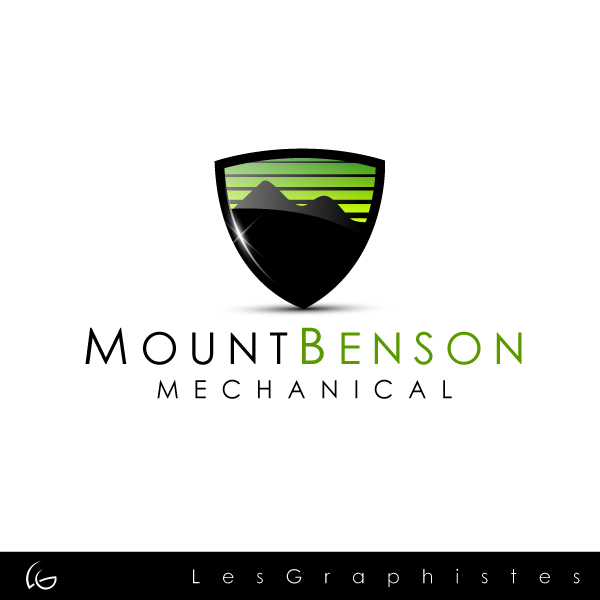 Logo Design by Les-Graphistes - Entry No. 18 in the Logo Design Contest Mount Benson Mechanical.