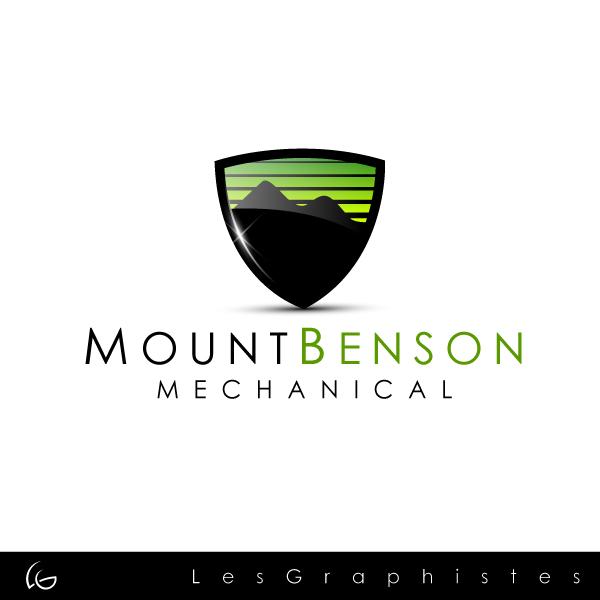 Logo Design by Les-Graphistes - Entry No. 18 in the Logo Design Contest Mount Benson Mechanical.