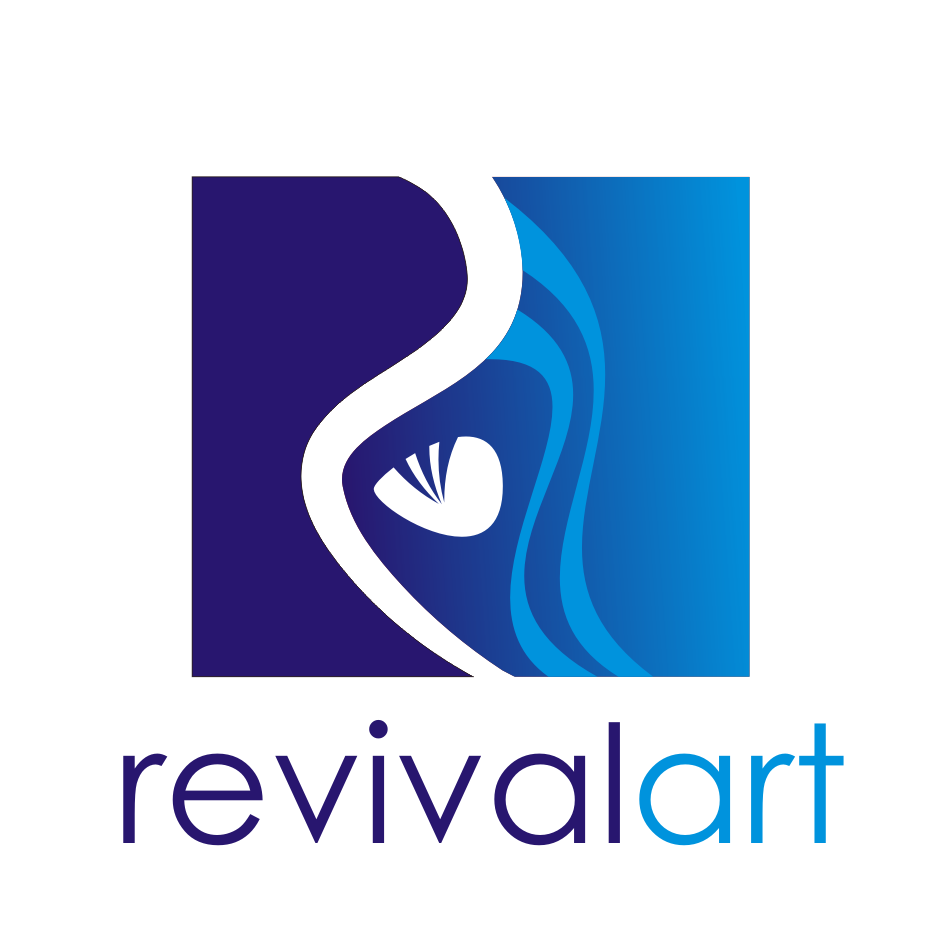 Logo Design by Chandan Chaurasia - Entry No. 205 in the Logo Design Contest Revival Art.