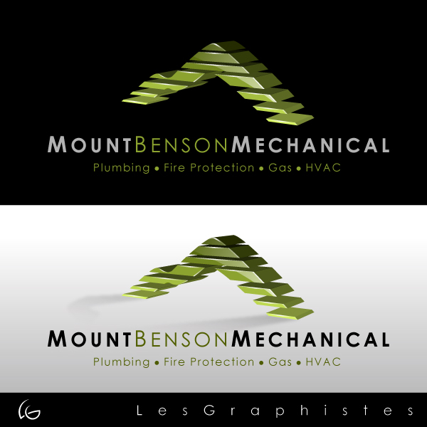 Logo Design by Les-Graphistes - Entry No. 35 in the Logo Design Contest Mount Benson Mechanical.