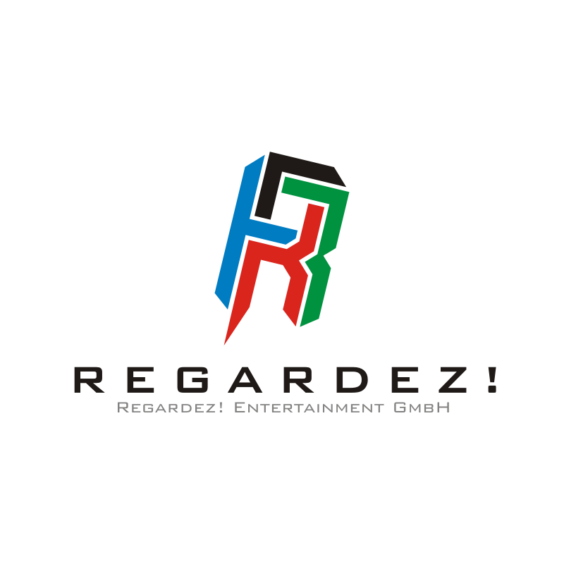 Logo Design by montoshlall - Entry No. 3 in the Logo Design Contest Logo Design Needed for Exciting New Company Regardez! (full name = Regardez! Entertainment GmbH).