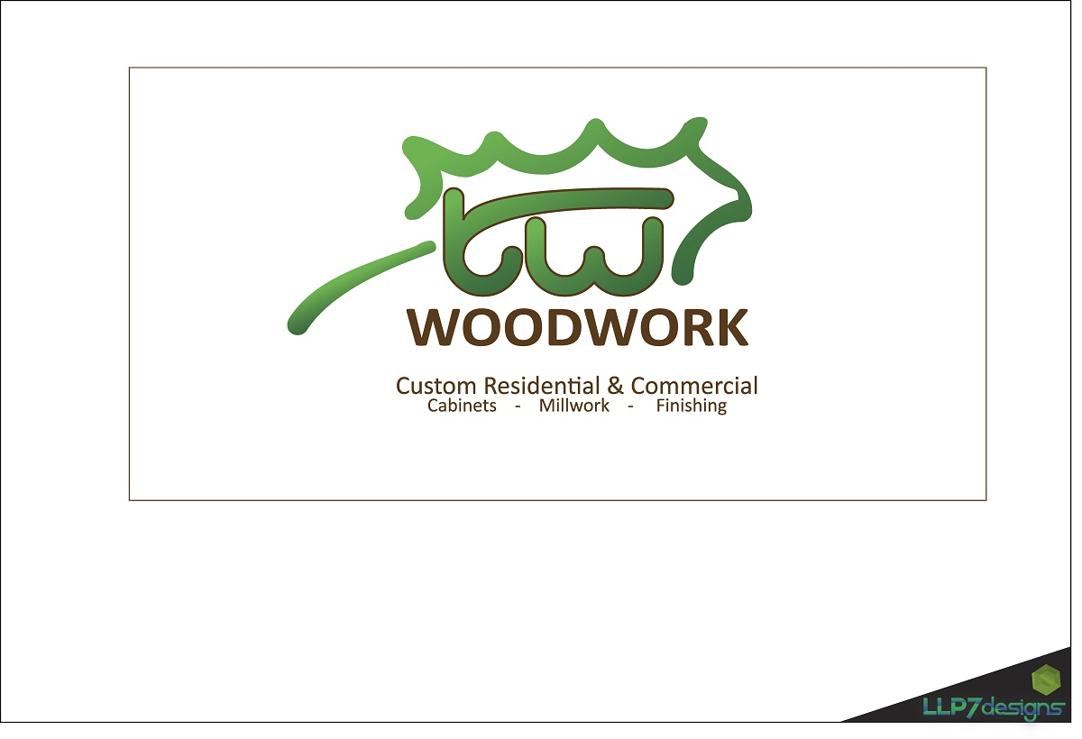 Logo Design by LLP7 - Entry No. 29 in the Logo Design Contest True West Woodwork.