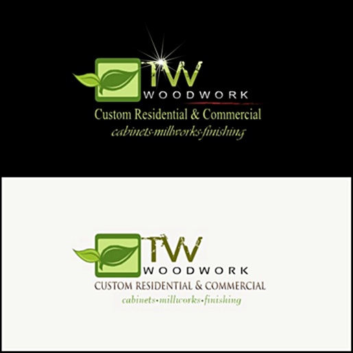 Logo Design by joway - Entry No. 31 in the Logo Design Contest True West Woodwork.